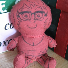 SDCC Sketch Doll - Lars Brown