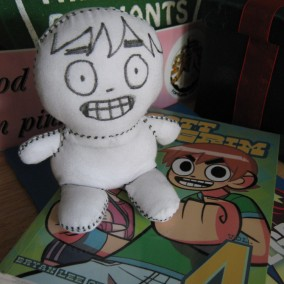 SDCC Sketch Doll - Bryan Lee O'Malley