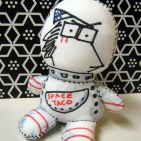 SDCC Sketch Doll: Teerawat Palanitisena
